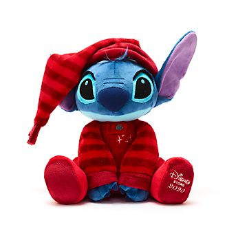 Disney Store Stitch Holiday Cheer Medium Soft Toy