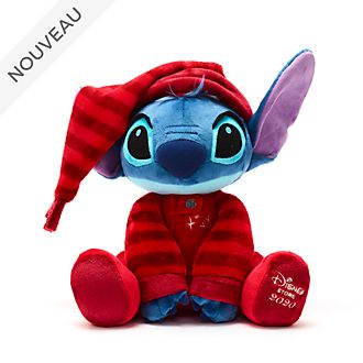 Disney Store Peluche moyenne Stitch, Holiday Cheer