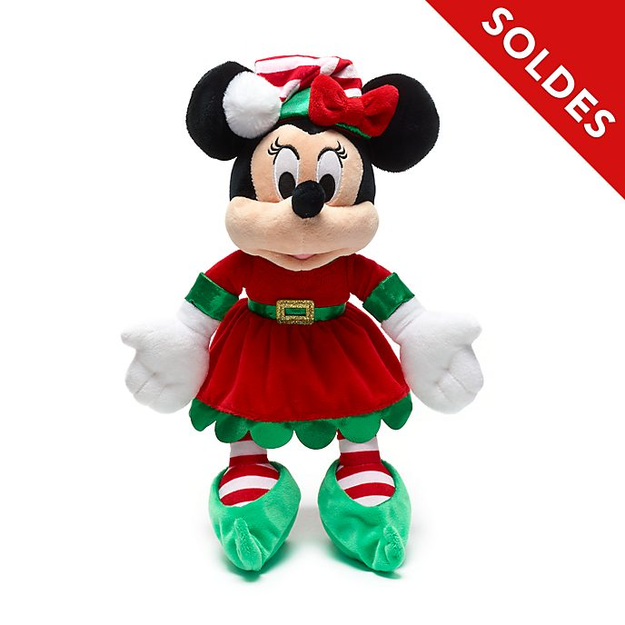 Disney Store Petite peluche Minnie, Holiday Cheer