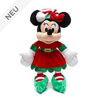 Disney Store - Holiday Cheer - Minnie Maus - Kuschelpuppe