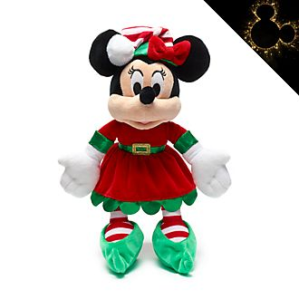 Peluche piccolo Minni Holiday Cheer Disney Store