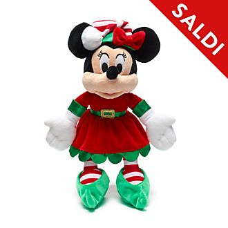 Peluche piccolo Minni Holiday Cheer Disney Store