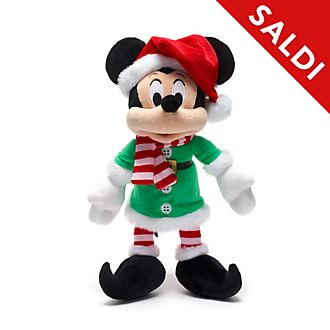 Peluche piccolo Topolino Holiday Cheer Disney Store