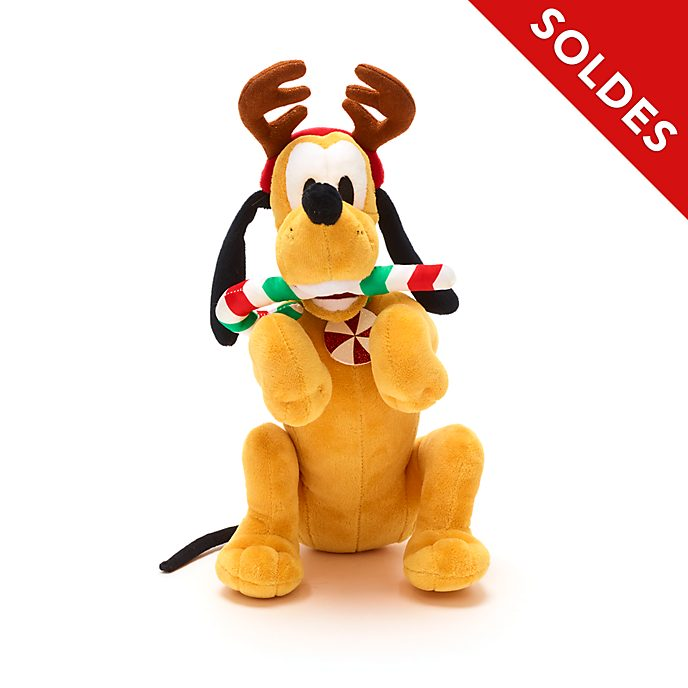 Disney Store Peluche moyenne Pluto, Holiday Cheer