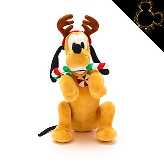 Peluche mediano Pluto, Holiday Cheer, Disney Store