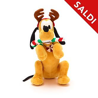 Peluche medio Pluto Holiday Cheer Disney Store