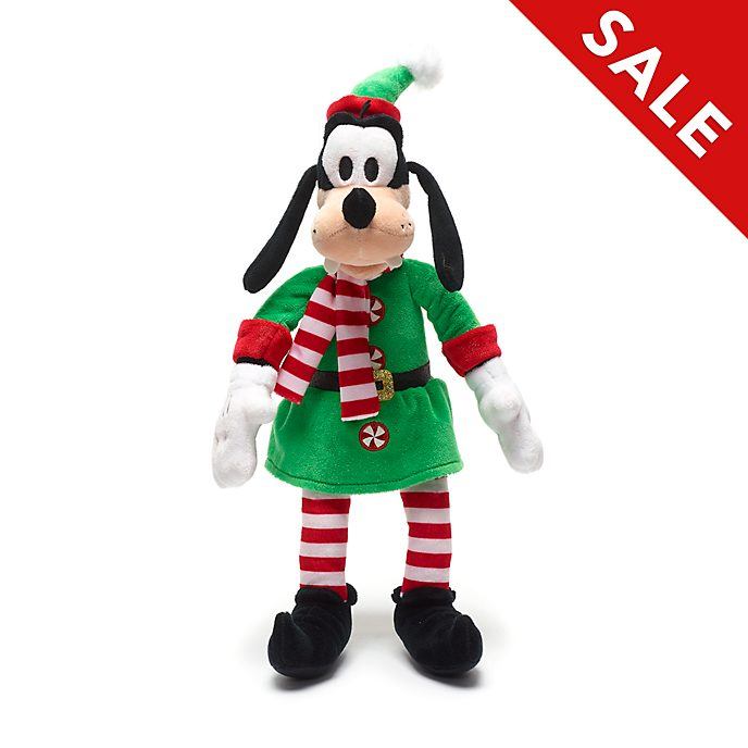 Disney Store Goofy Holiday Cheer Small Soft Toy