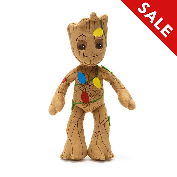 Disney Store Groot Holiday Cheer Small Soft Toy
