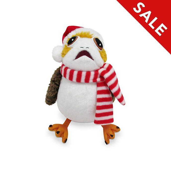 Disney Store Porg Holiday Cheer Medium Soft Toy, Star Wars