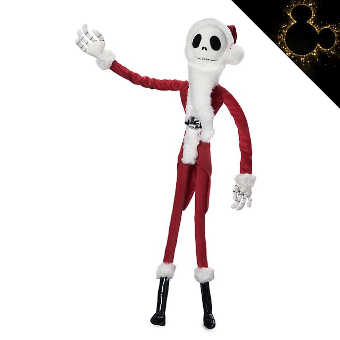 Bambola di peluche piccola Babbo Nachele Jack Skeletron Disney Store