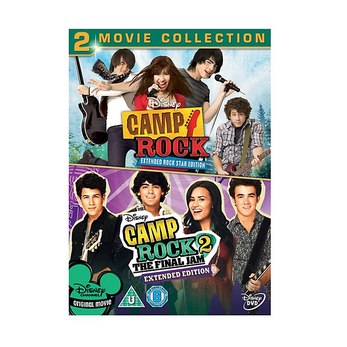 Camp Rock & Camp Rock 2 DVD