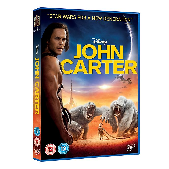 John Carter of Mars DVD