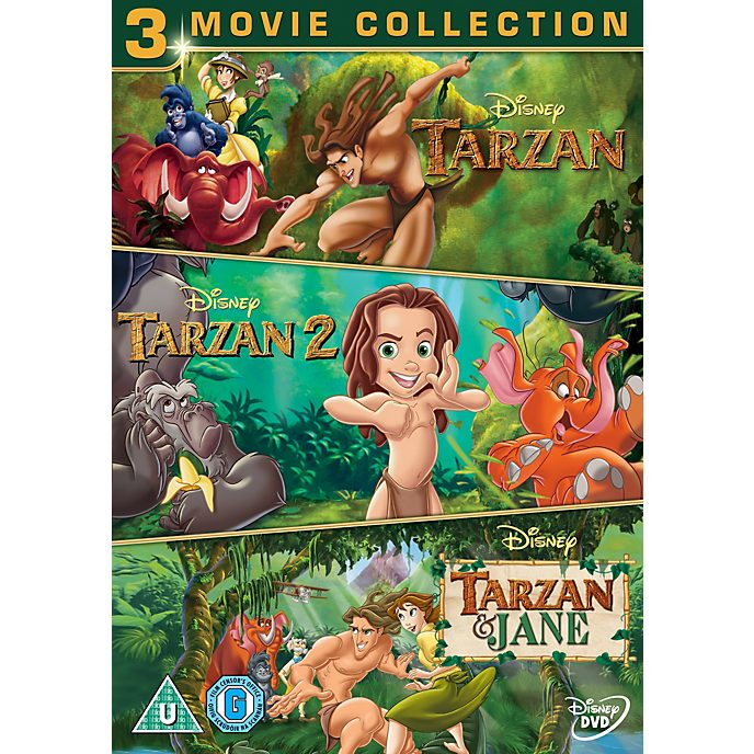 Tarzan Collection Tripack DVD