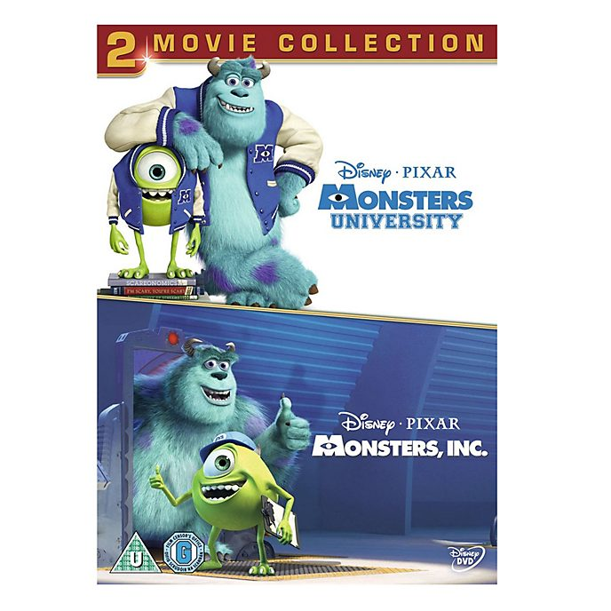 Monsters Inc & University DVD
