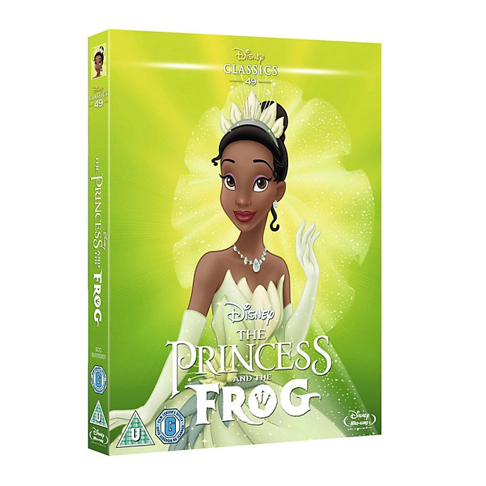 Princess And The Frog Blu-ray