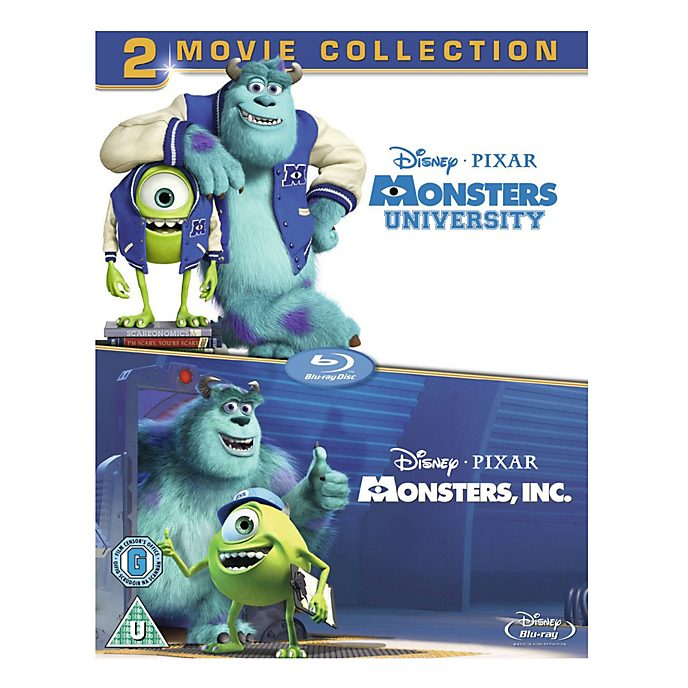 Monsters Inc & Monsters University Blu-ray