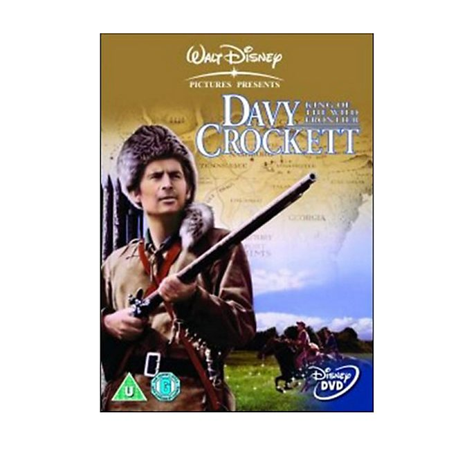 Davy Crockett, King of the Wild Frontier DVD