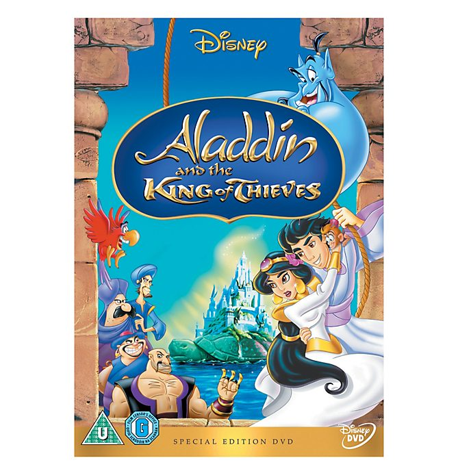 Aladdin and the King of Thieves DVD