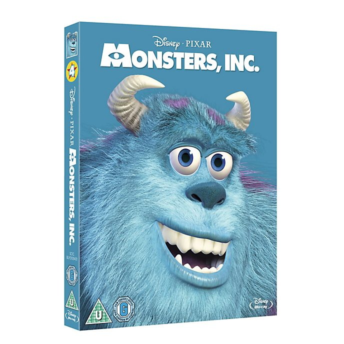 Monster's Inc Blu-ray