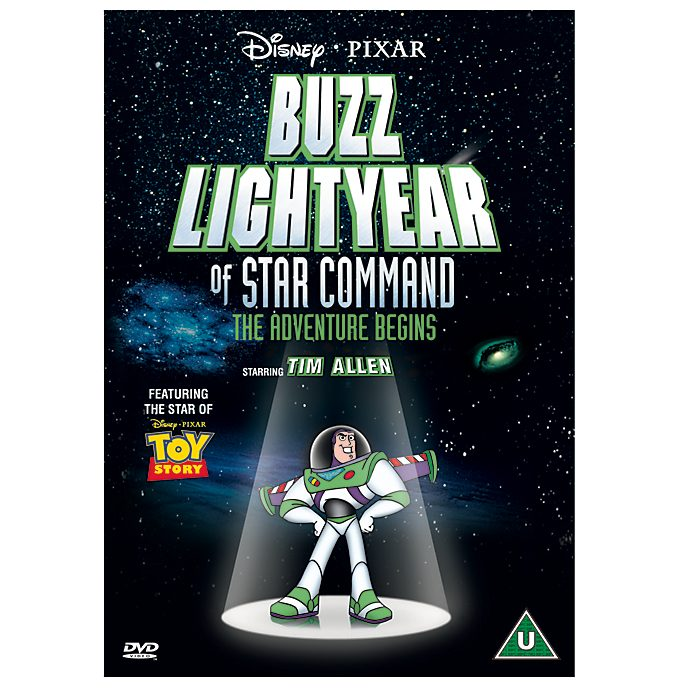 Buzz Lightyear Of Star Command DVD