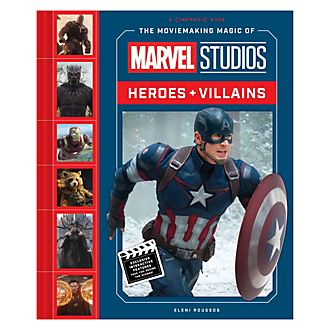 The Moviemaking Magic of Marvel Studios: Heroes & Villains Book