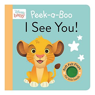 Peek-a-Boo I See You! Baby Book