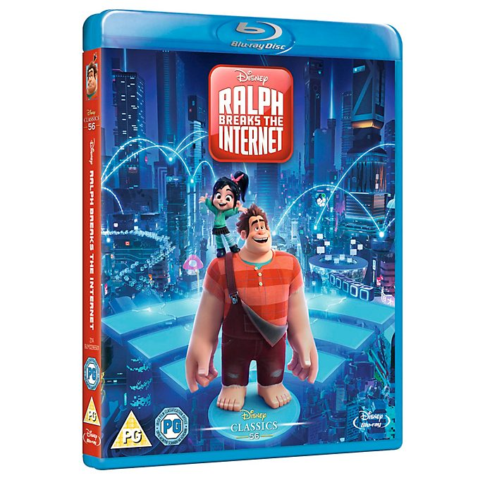 Ralph Breaks The Internet Blu-ray