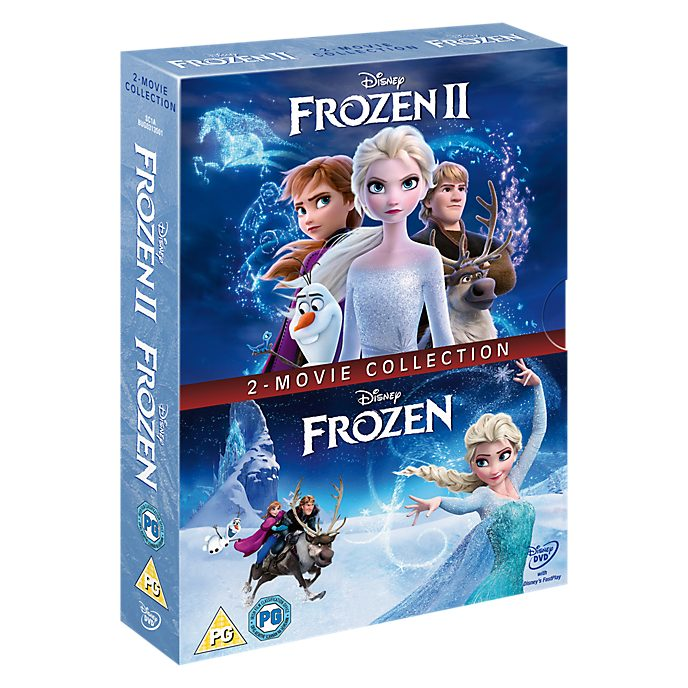 Frozen & Frozen 2 DVD Doublepack