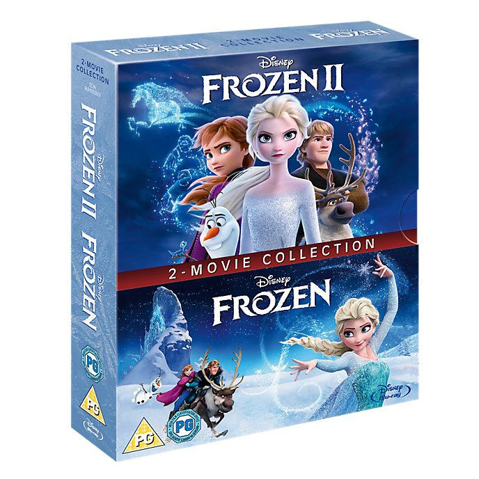 Frozen & Frozen 2 Blu-ray Doublepack