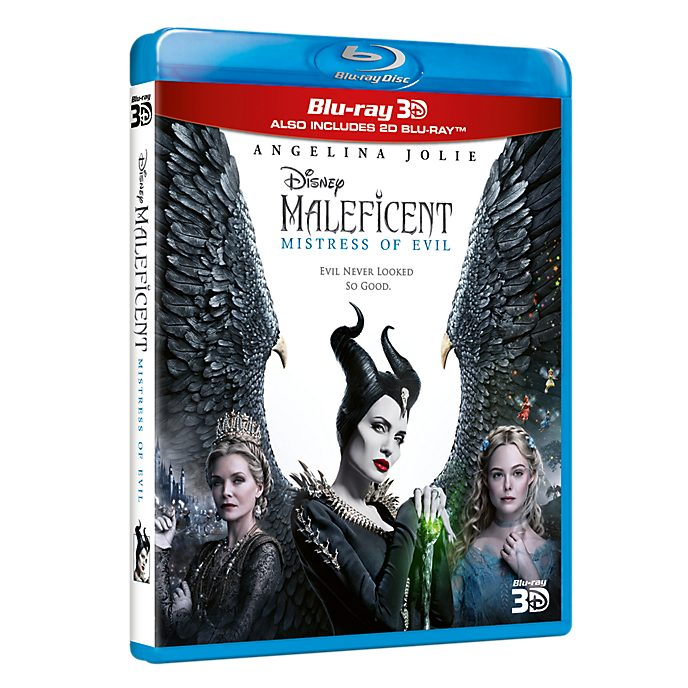 Maleficent Mistress of Evil 3D Blu-ray