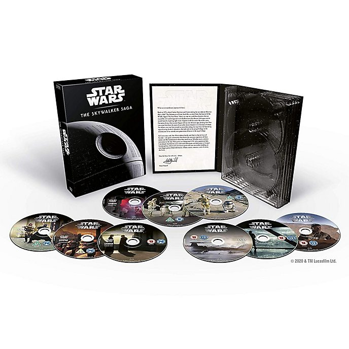 Star Wars: The Skywalker Saga Complete DVD Box Set (9 discs)