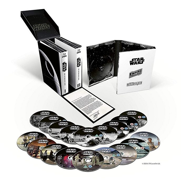 Star Wars: The Skywalker Saga Complete Blu-ray Box Set (18 discs)