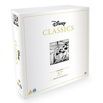 Disney Classics Complete 57 Disc DVD Collection