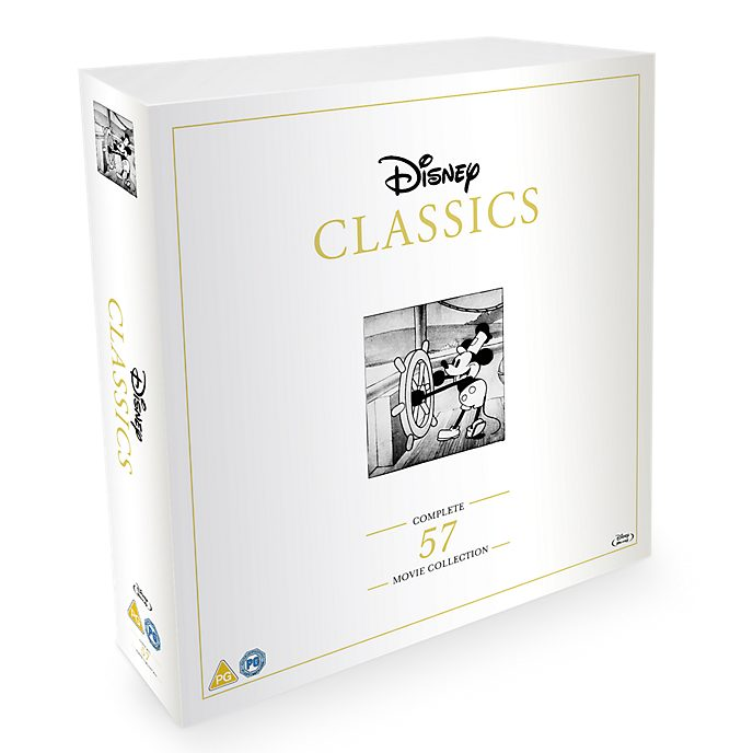 Disney Classics Complete 57 Disc Blu-ray Collection