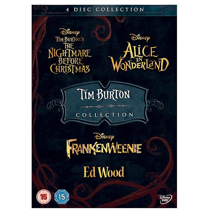 Tim Burton 4 Movie DVD Collection