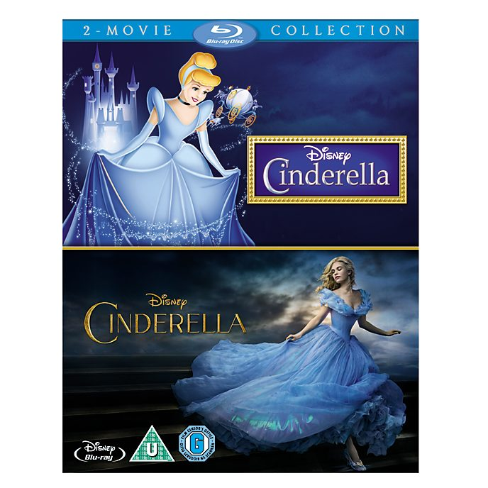 Cinderella Animated & Live Action Blu-ray