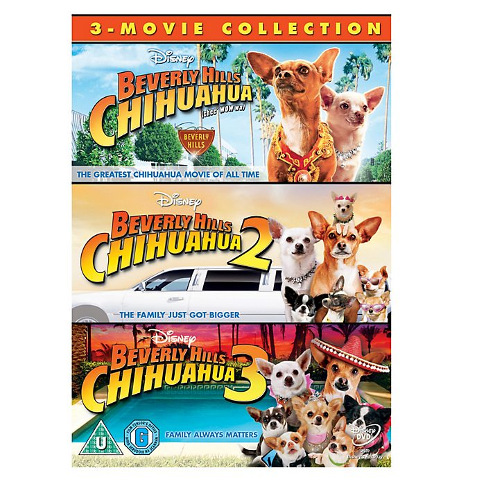 Beverly Hills Chihuahua 1-3 DVD