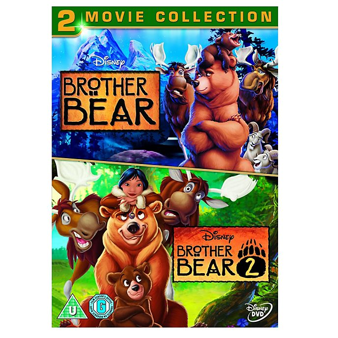 Brother Bear & Brother Bear 2 DVD