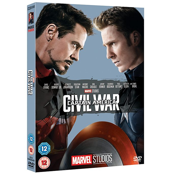 Captain America: Civil War DVD