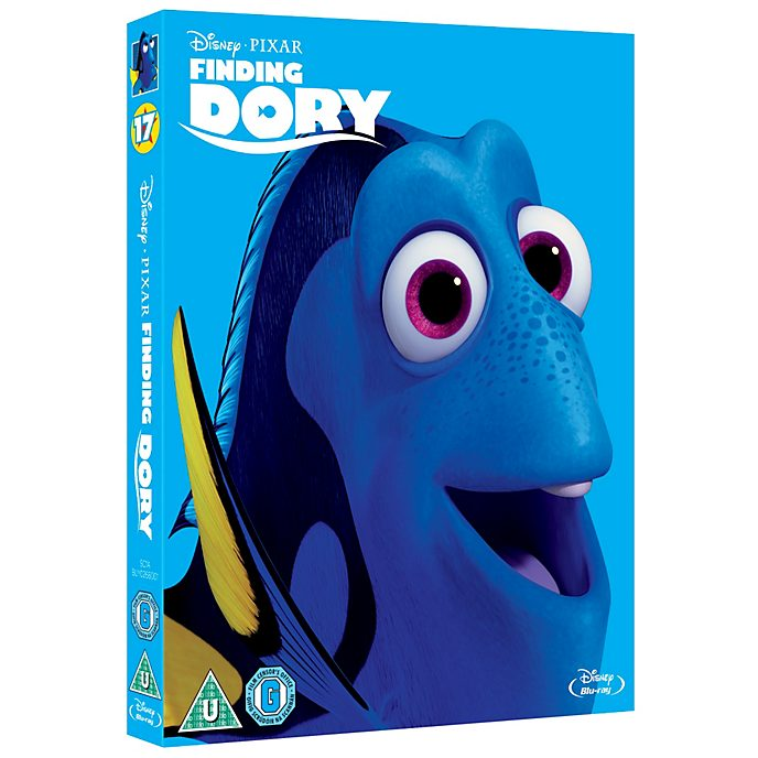 Finding Dory Blu-ray