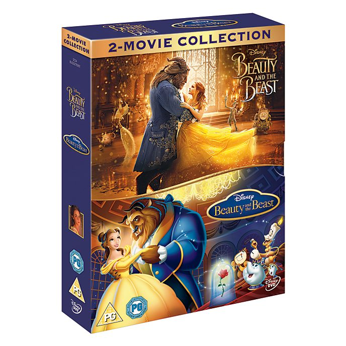 Beauty and the Beast Live Action/Animated DVD Doublepack
