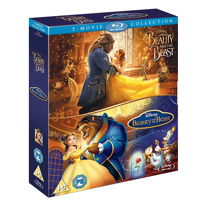 Beauty and the Beast Live Action/Animated Blu-ray Doublepack