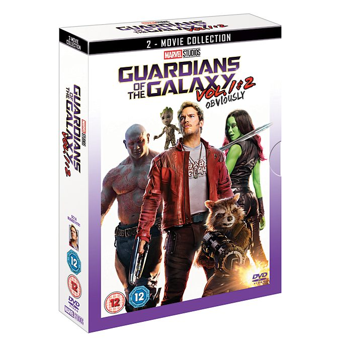 Guardians of the Galaxy/Guardians of the Galaxy Vol. 2 Doublepack DVD