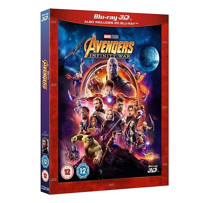 Avengers Infinity War 3D Blu-ray