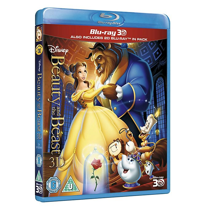 Beauty and the Beast 3D Blu-ray