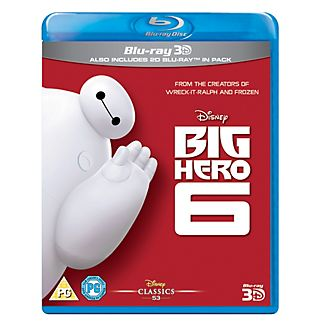 Big Hero 6 3D Blu-ray