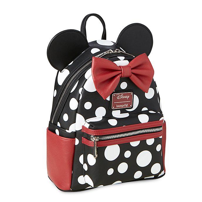 Loungefly Mini sac à dos à pois Minnie