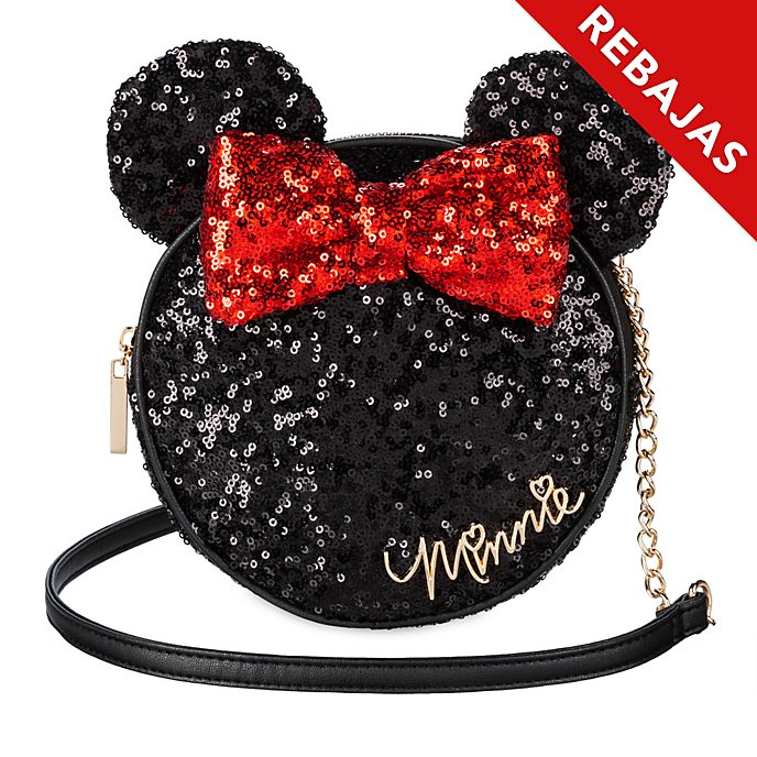 Bolso bandolera lentejuelas Minnie Mouse, Disney Store