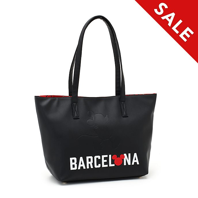 Disney Store Mickey Mouse Barcelona Tote Bag