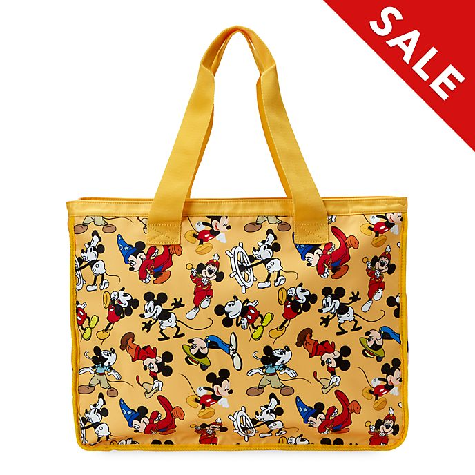 Disney Store Mickey Mouse Through the Ages Tote Bag